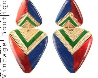 Vintage Tribal Global Chic Earrings