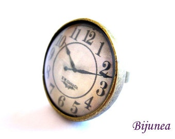 Watch ring - Romantic Watch ring - Vintage Watch ring - Brass Watch ring - Watch ring r776