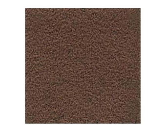 Ultrasuede Beading Foundation or Backing 43286 , Brownstone Brown, 8.5 Inches, Ultra Suede Cabochon Backing, Bead Backing, Microfiber Fabric