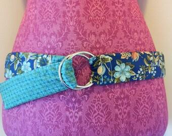 Floral Patchwork Belt
