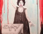 The Magician Tarot Painting (THE CRAFT)