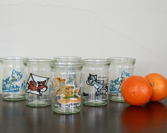 Vintage Welch's Tom and Jerry Juice Glasses