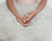 Flower Girl Sash (your choice of color and style)