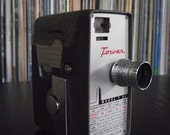 Mid Century Tower Model T 92 8mm Movie Camera