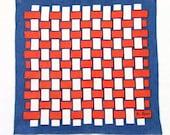 Linen Textile Red White Blue The Ryans