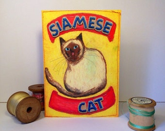 Siamese Cat - Siamese Cat Greeting Card - Cat Love - Cards For Cat Lovers