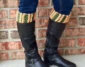 Braided Hearts Boot Cuffs Crochet Pattern, Boot Socks Boot Warmer Pattern, Crochet Leg Warmers Patterns, Boot Cuff