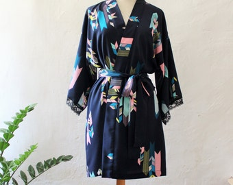 Kimono Style Robe/style YABANE