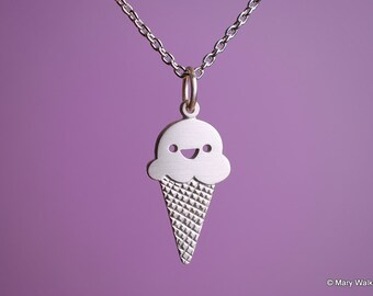 Happy Ice Cream Necklace