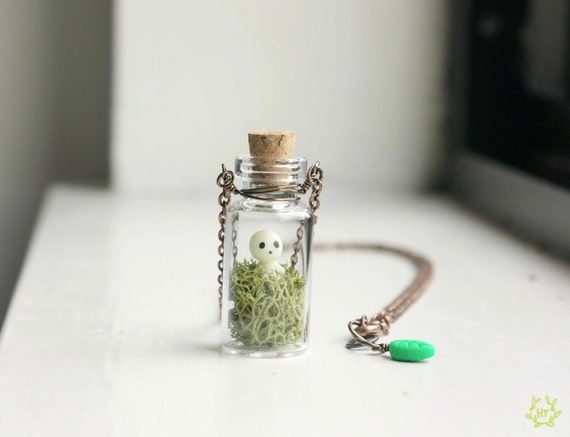 Kodama Spirit bottle necklace
