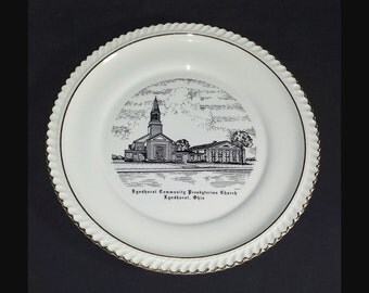 Lyndhurst Community Presbyterian Church of Lyndhurst Ohio Decorative Plate