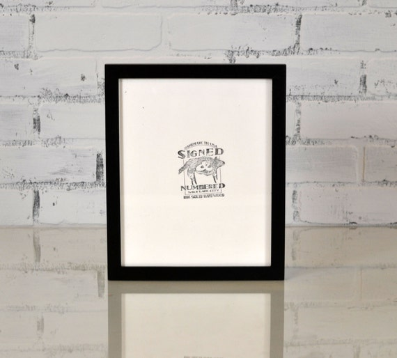 """8x10"""" Picture Frame in PeeWee Style and COLOR of YOUR CHOICE - 8x10 Gallery Photo Frame - Wooden Frame 8 x 10"""