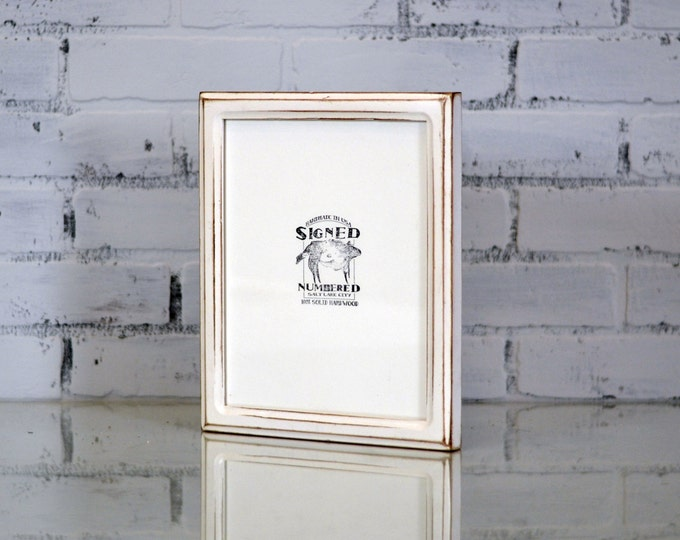8x10 Picture Frame in Double Cove Style and in Finish Color OF YOUR CHOICE - Handmade 8x10 Photo Frame - Wooden Frame 8 x 10