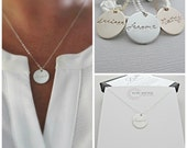 Silver Name Necklace, Silver Nameplate Necklace, Engraved Necklace, Personalized, Necklace, Childs Name Necklace, minimalist Necklace