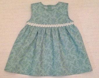 Dress. 100% cotton. Size 80.
