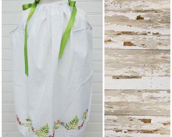 Girls Dress Sundress Pillowcase Dress Beach Dress Summer Dress Vintage Dress 3T dress (Ant224) Flower Girl Dress FREE CLIP