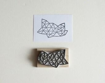 Crystal Configuration 06 - Hand Carved Stamp