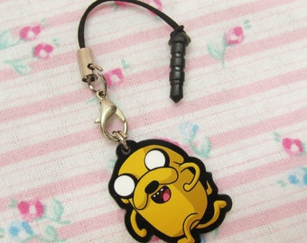 Jake Adventure Time Charm with Smarphone Connector
