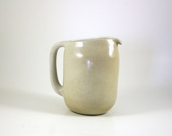 Edith Heath Pitcher in Cream for Heath Ceramics of California