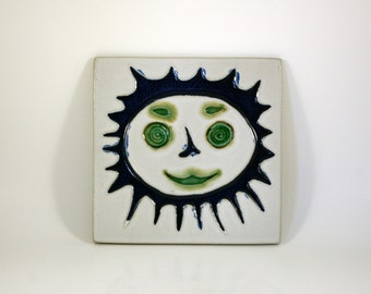 Sun Tile by David Gil for Bennington Potters of Vermont