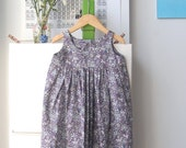 simple summer dress  2T - 3T