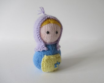 Erik the Viking toy knitting patterns by fluffandfuzz on Etsy