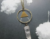 mystical crystal necklace
