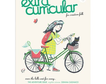 Extra Curricular magazine issue 13 - The Adventure Issue