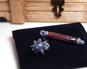Magister's Mace Flameworked Glass Limited Edition Loot by Bashi Alé