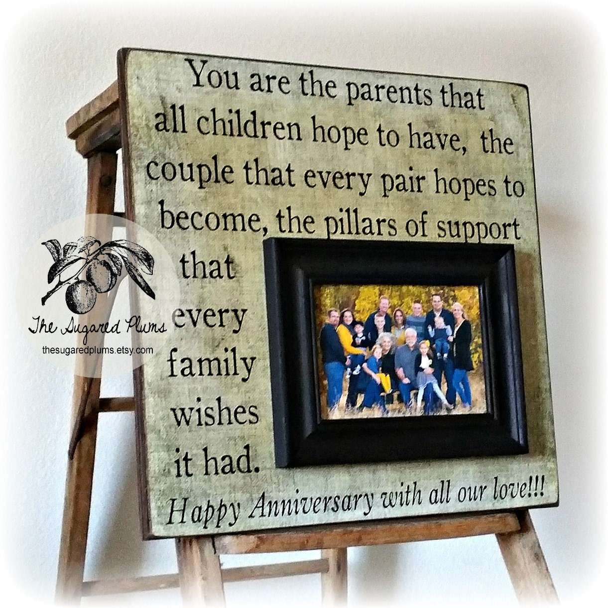 Parents Anniversary Gift 50th Anniversary Gifts You Are The
