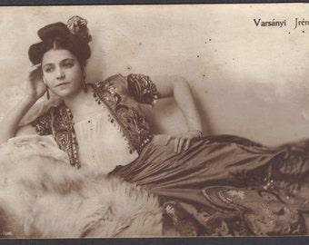 Jren Varsanyi, Hungarian Stage and Film Actress, circa 1920s