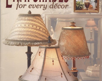 Unique Decorated Lamp Shade Related Items Etsy