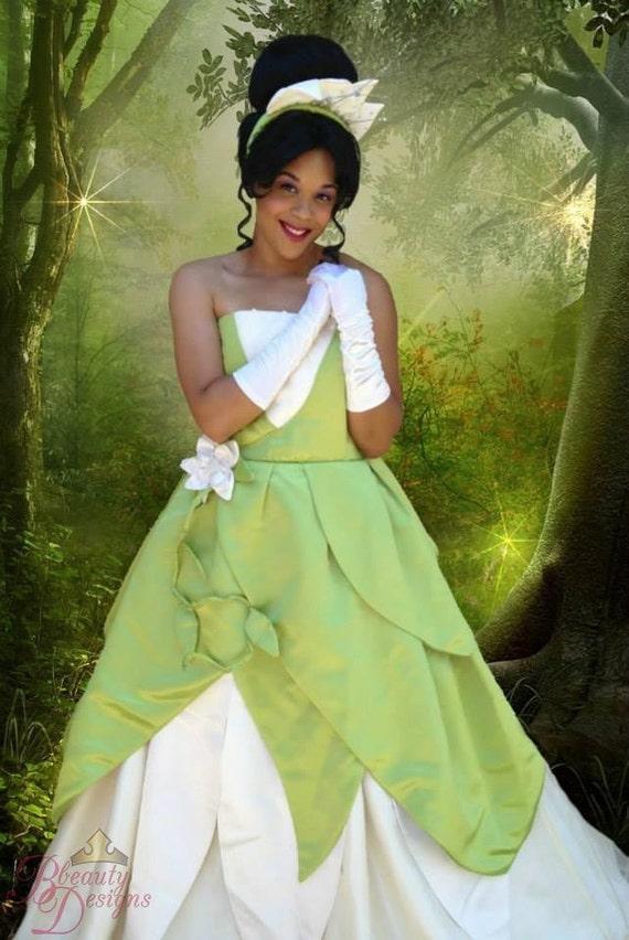 Costume adulte personnalis princesse tiana b - Costume princesse disney adulte ...