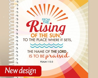 Rising of the Sun Prayer Journal / Personalized Journal
