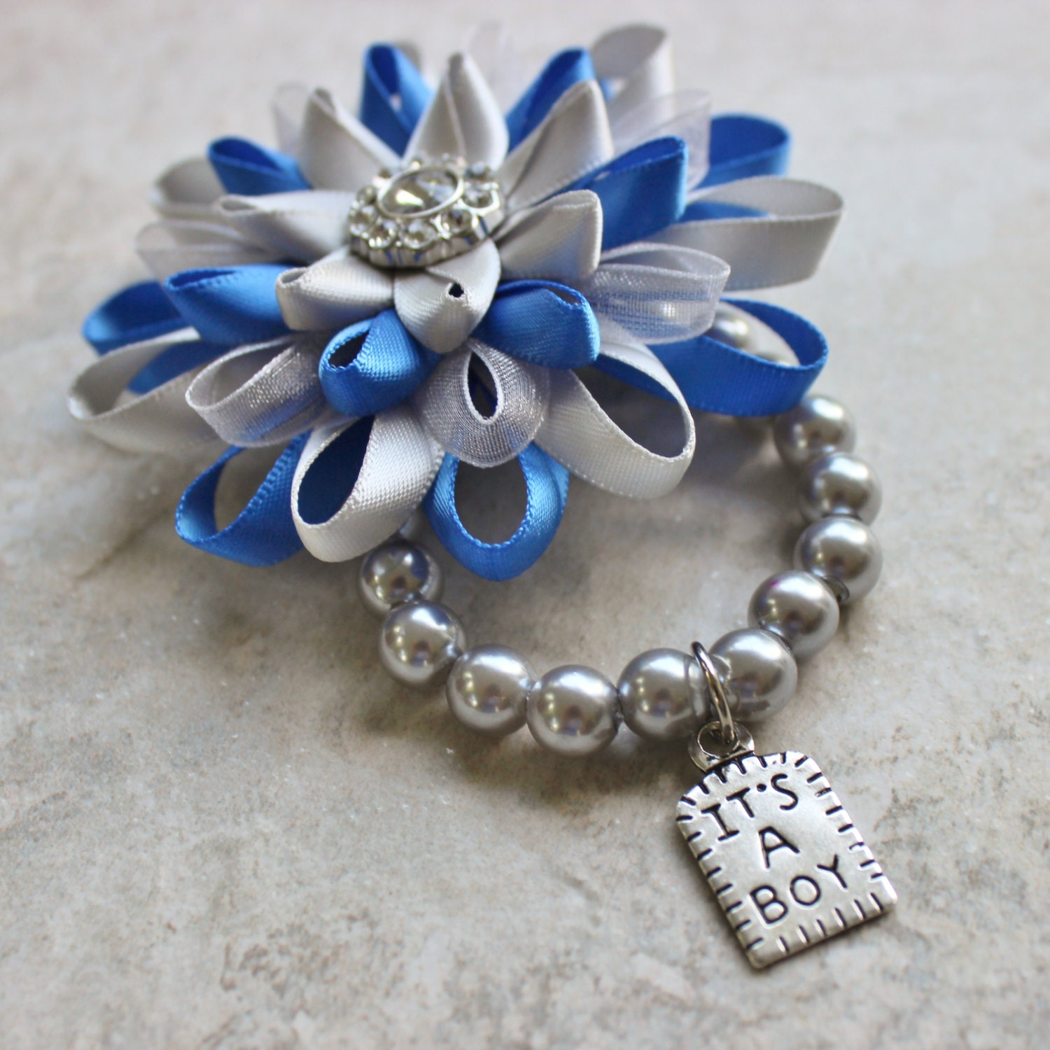 baby boy shower ideas its a boy corsage baby boy shower