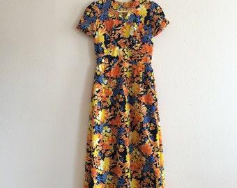 V I N T A G E / Handmade Maxi Dress
