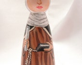 Blessed Eva of Liege - Catholic Saint Doll - made to order