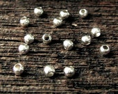 Sterling Silver SEAMLESS Round Beads  -  100 pcs - 2.5mm  MB2