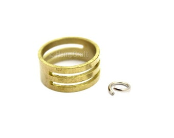 Jump Ring Opener, Brass Ring Jewelry Tool, 17mm Open/Close Tool