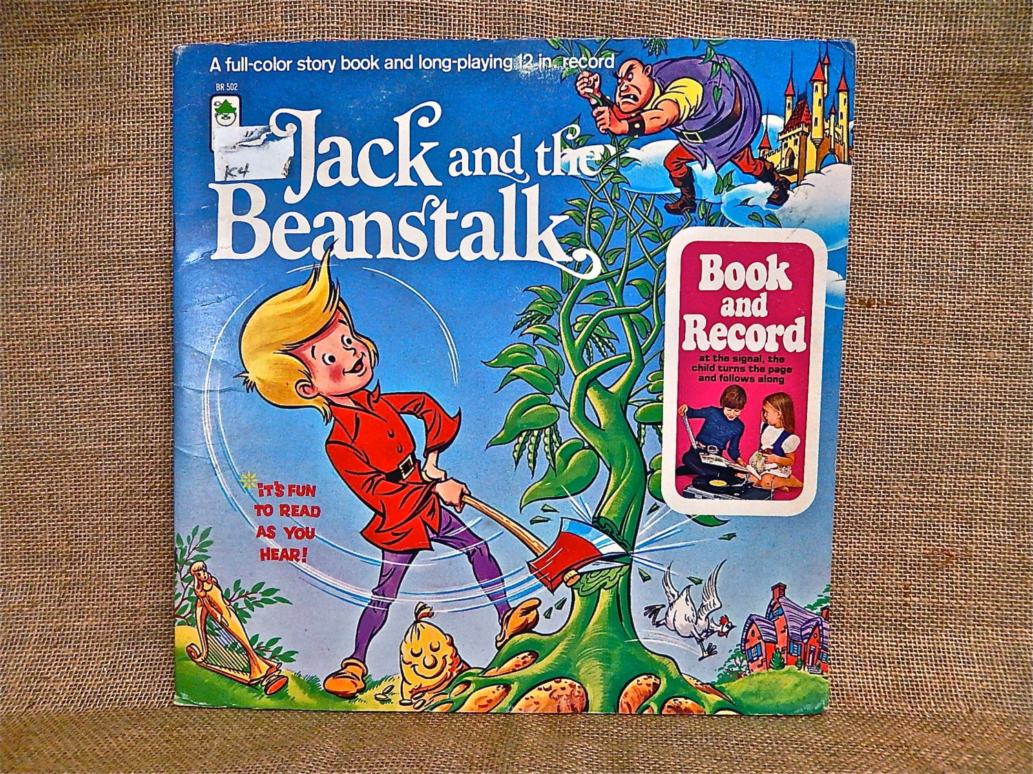 JACK and the BEANSTALK - A Full-Color Story Book and lp ...