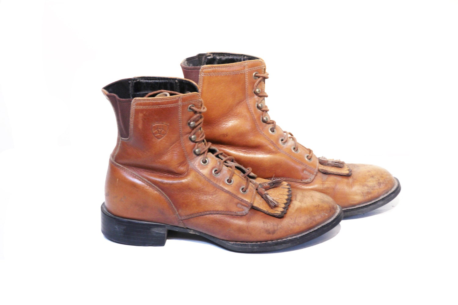 Amazing Brown Leather Lace Up Boots Womens | Coltford Boots