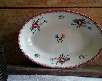 Vintage French Sarreguemines dish