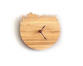 Sydney Modern Wall Clock