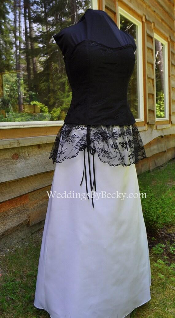 Western lace wedding dress - photo#17