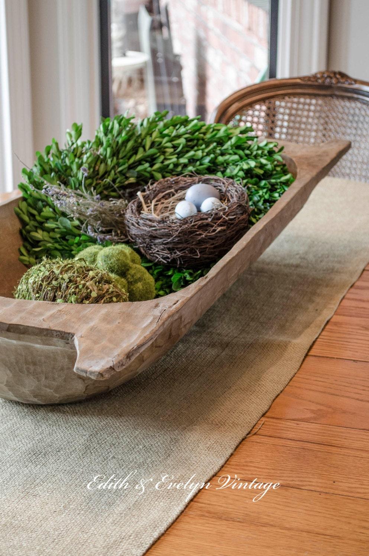 TEMP HOLD For Kim Antique European Dough Bowl Trencher