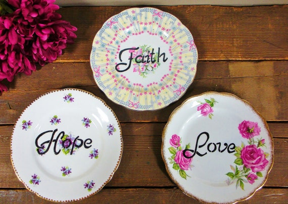 Decorative Wall Plates For Hanging: Decorative Wall Plates Vintage China Plate Hanging Wall By