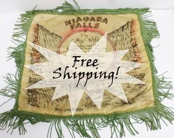 """Niagara Falls Souvenir Pillow Case """"To My Wife"""" Vintage Free Shipping!"""