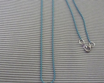 Made with Love Blue Necklace