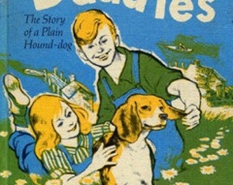 Daddles:The Story of a Plain Hound-Dog by Ruth Sawyer (1964, Hardback)