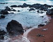 Dark Beauty Portrait - Ocean Decor, Large Wall Art, Large Print, Nature, Photography, Hawaii, Island, Mountain, Volcano, Landscape